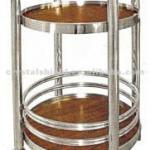 CH-059A Restaurant Wood Trolley Cart/Wine Cart / hotel service trolley / liquor trolley /liquor cart-CH-059A