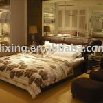 Attractive fashional and comfortable soft bed hotel bed for sales 3D333-3D333