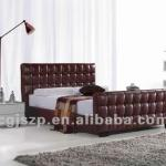 Hot Sale Leather Bed Frame-SLB999