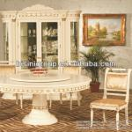 Luxury exquisite hotel furniture set hotel dining table chair hutch (BG90280)-BG90280