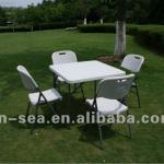 square table, catering table, outdoor plastic banquet table, folding table,plastic furniture-HF87