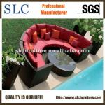Waterproof and SGS Approved Round Shape Hotel Sofa (SC-A7123)-SC-A7123