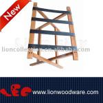 LEC-R062 wooden hotel luggage rack-LEC-R062 wooden hotel luggage rack