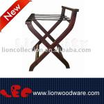 LEC-R082 wooden hotel luggage rack-LEC-R082 wooden hotel luggage rack