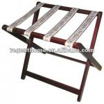 folding and wooden luggage racks-LR-117-1