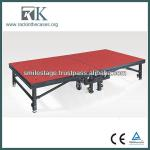 High Quality Adjustable Portable Hotel Furniture Stage-RK Folding Stage