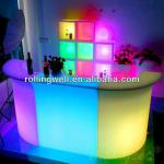 multi color changing plastic furniture,night club illuminated led bar counter-led bar counter