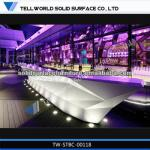 2014 Hot sale high gloss bar counter with lights commercial bar counter for sale-TW-ACBC-00118,TW-ACRC