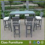 Handweaving rattan bar furniture 21071-21071+GS-3079