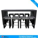 2014 Hot Sale PE bar furniture in Brown rattan 2031-2031