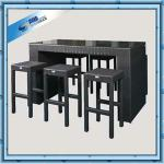 Rattan Woven Cheap Outdoor Bar Sets-SDC1355-Cheap Outdoor Bar Sets