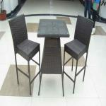 Rattan Bar/Bistro Table Set Furniture-TLH-9099