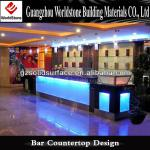 beauty translucent led bar counter for commerce-Custom-made