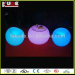 luminous led table with glass top for night club or pub-KD-F856T