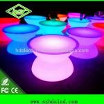 2013 NEW ARRIVAL Interactive bar and party table with 16 color changing-HDS-T110