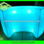 Occasional table with led light and colorful changed-HDS-C206