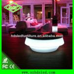 Commercial table illuminated furniture/round table-HDS-C206