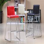 cheap commercial leather bar stools on sale-YM-J-017