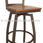 2014 hot sell 360 degrees swivel metal bar stool for sale-DG-6N9B(3a)