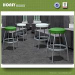 Patio rattan bar stool-HLWBC716