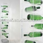 multiple style acrylic wine rack-001