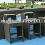 wicker bar counter-RF-069