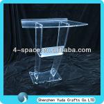 High Structure Clear Acrylic Church Pulpit Design-YD-J0322