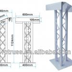 Hight quality aluminum truss lectern-RP LECTERN