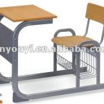 Single Desk With Chair-G3161