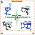 school suppliers double desk and chair/ school desk and chair used school furniture-SF-32D