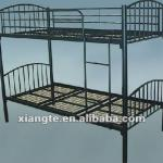 simple design metal dorm bunk bed/metal bunk bed-WR059-XT