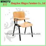HOT SALE school chairs with writing pad-MY-C215