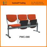 hospital waiting room furniture/waiting room chairs used/polypropylene plastic chair-PWC-099