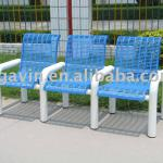 3-Seaters Steel Outdoor Chair,garden chair-B-002