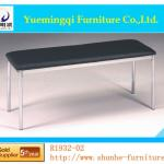 Top sales PU and chrome waiting chair R1932-02-R1932-02