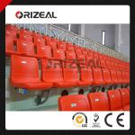 stadium chair OZ-3003 Orange color plastic seat for stadium use-OZ-3003