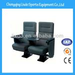 New Style Church Auditorium Seat with Writing Pad and Soft Cushion Covered Plastic Auditorium Seat-LX-3013