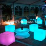 modern glowing led cube chair/flashing cube with remote control-CQC-103