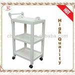 popular solid wooden beauty trolley-B-62(white)