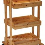 Wood beauty salon trolley cart MY-059-MY-059