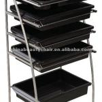 Stainless steel salon trolley MY-G009-MY-G009