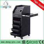 black mobile styling station for beauty salon-DP-6021 mobile styling station