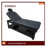wooden facial bed CK 8403 in black-CK 8403