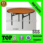 folding wooden round hotel table CT-8021-CT-8021 hotel table