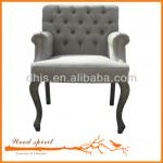 Dining Chair Wood ,Upholstered Dining Chair With Arms , Armrests-SE010-01