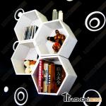 Restaurant Furniture-hexagon dispaly rack-CG4028