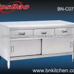 Stainless Steel Working Bench Cabinet with Drawers-BN-C07