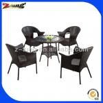 elegant rattan used dining room furniture for sale ZT-1101CT-ZT-1101CT