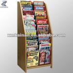 Wooden Library Corner Bookcase-KNK12205