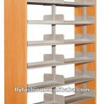 double face metal bookshelves/revolving bookshelves-ST-23